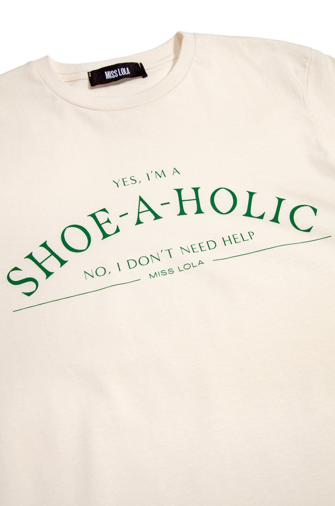 Shoeaholic Tee - Green