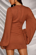 Date Night Dress - Rust