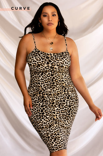 Wild Lust Dress - Leopard