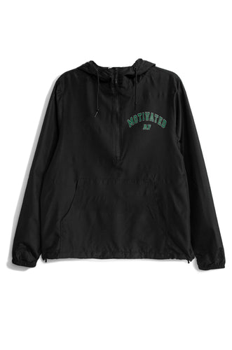 Motivated AF Windbreaker - Black