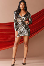 Magnetic Pull Dress - Silver