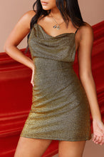 Notorious Glam Dress - Gold