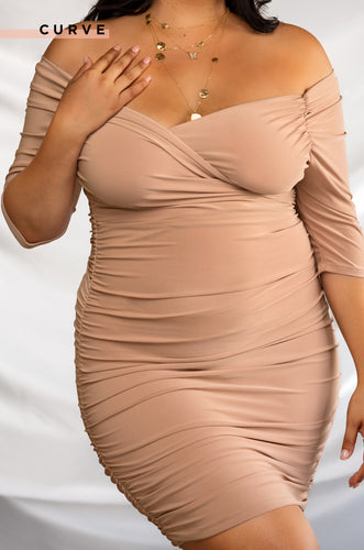 Award Winning Dress - Nude