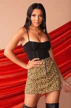 Feelin Frisky Skirt - Leopard