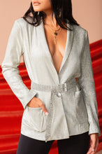 Main Attraction Blazer - Silver