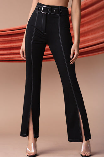 Bossed Up Pant  -  Black