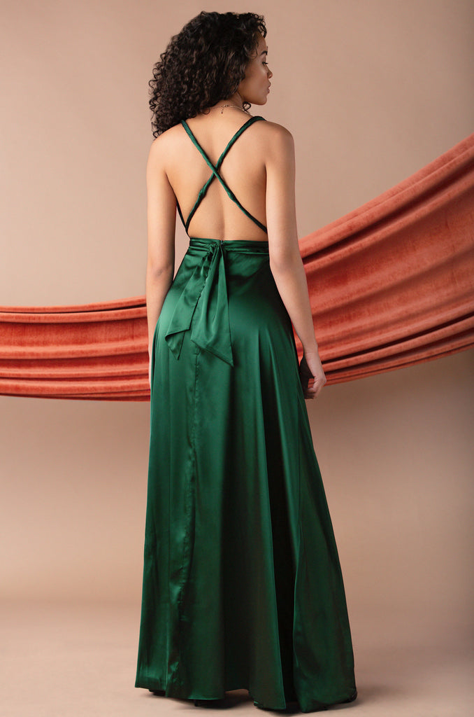 Lavish Class Dress - Green