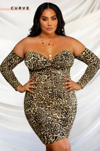 Wild Intentions Dress - Leopard