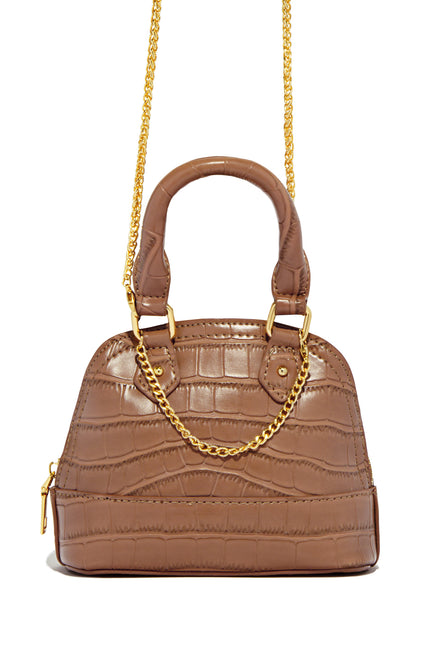 Center Of Attention Bag - Tan