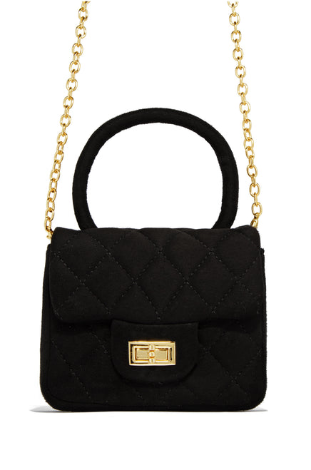 The Socialite Bag - Black