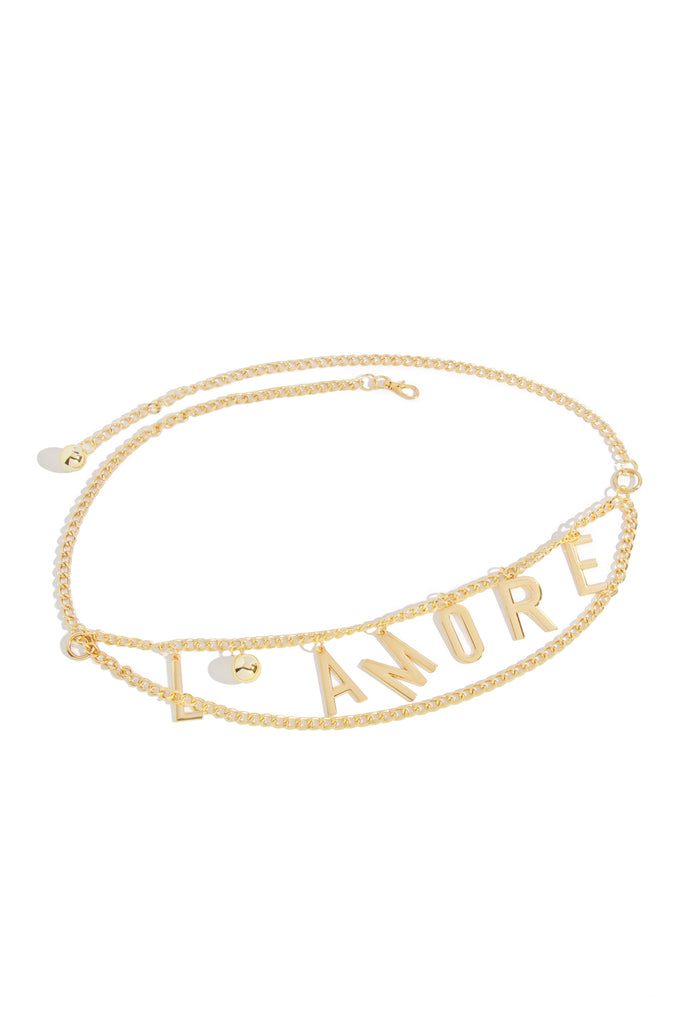 Amore Chain Belt - Gold