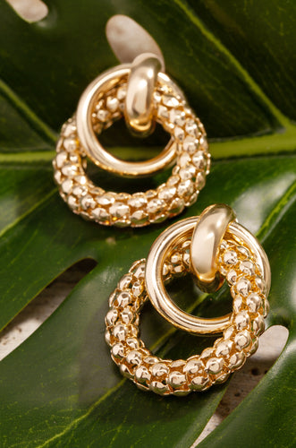 Claudia Earring - Gold