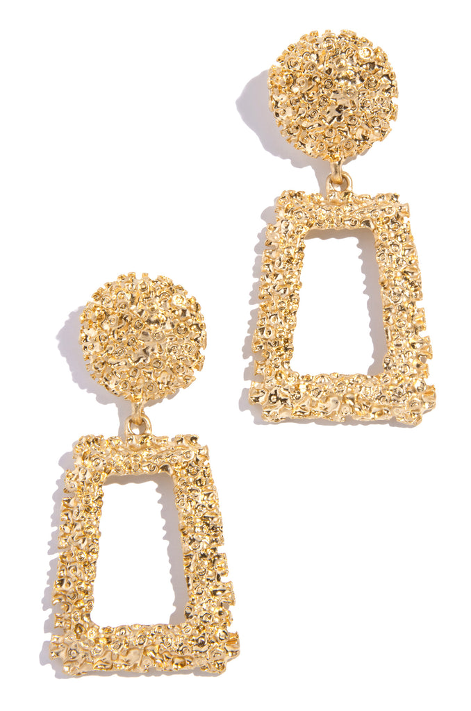 Vegas Nights Earring - Gold
