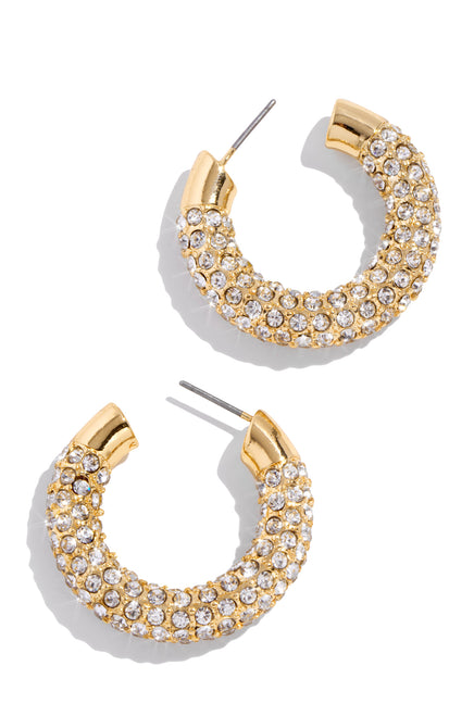Cheers To The Weekend Earring - Gold