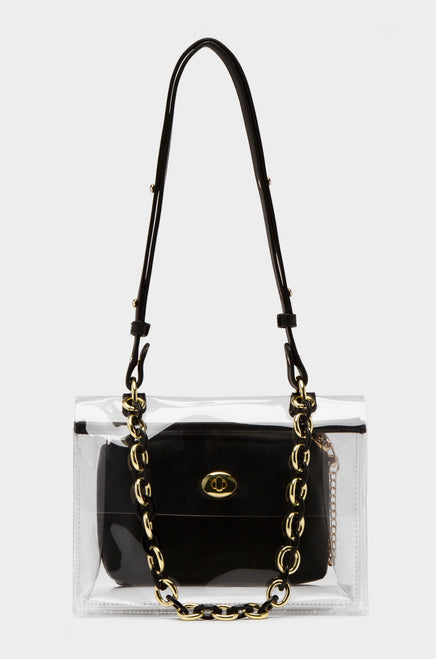 Beverly Blvd Shoulder Bag - Black