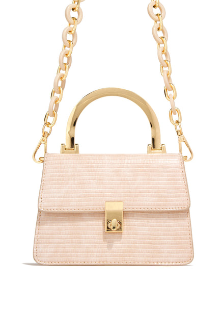 Brunch Date Bag - Nude