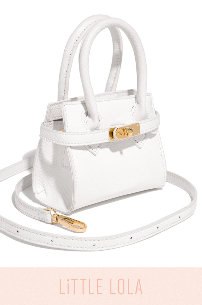 Mini Be Luxe Bag - White
