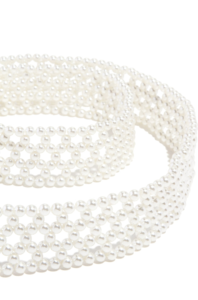Analia Belt - Pearl