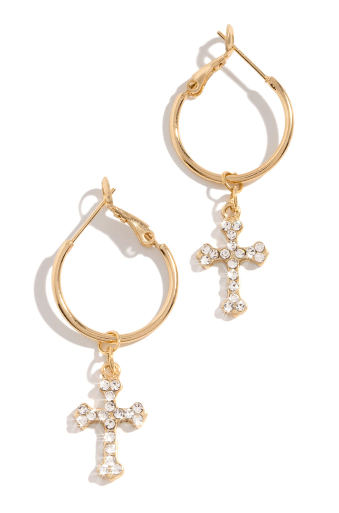 Born To Reign Earring - Gold