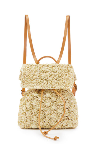 Palm Springs Backpack - Ivory