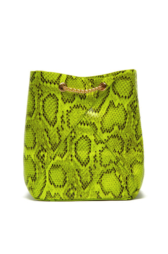 Sweet Sin Couture Bag - Neon Snake