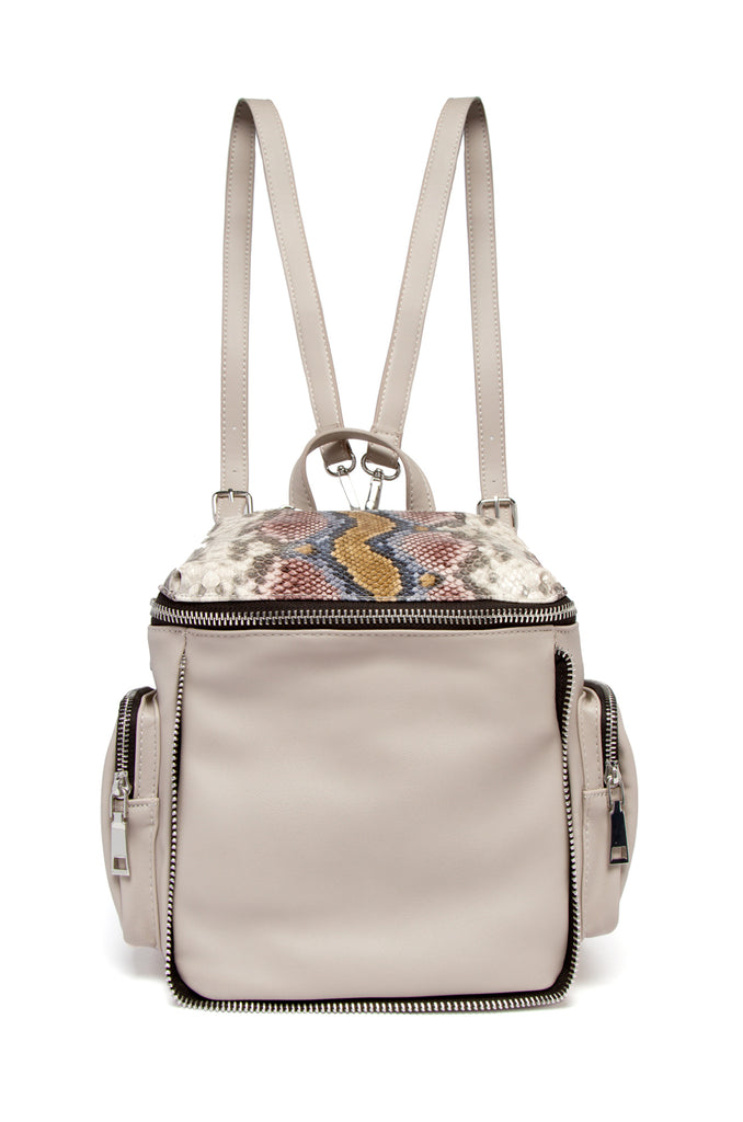 Hold Me Tight Backpack - Multi Snake