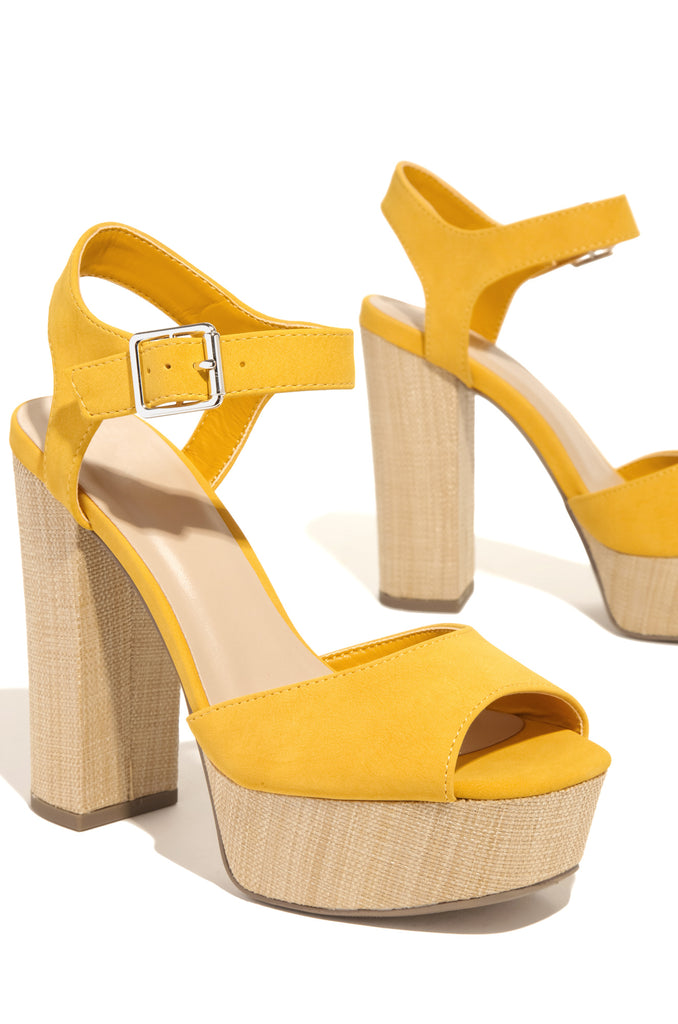 Sunday Crush - Yellow