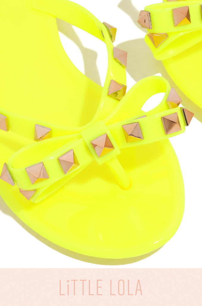 Little Posh - Neon Yellow
