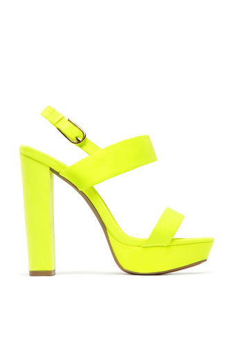 Tropic Heat - Neon Yellow