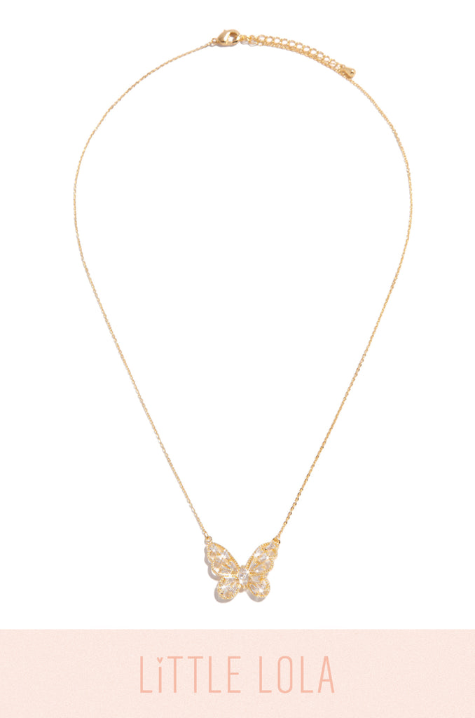 True Happiness Necklace - Gold