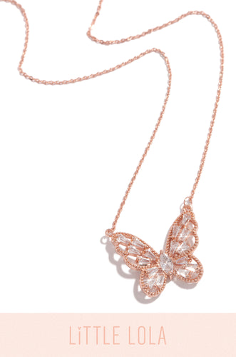 True Happiness Necklace - Rose Gold