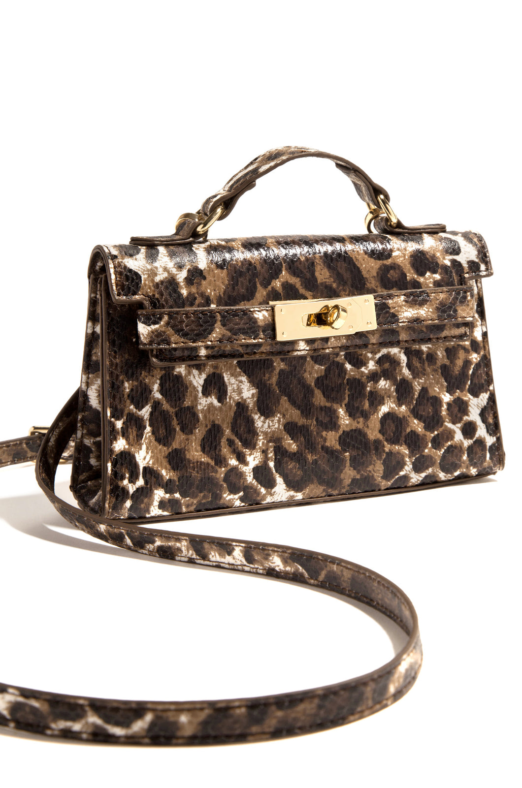 She's In Charge Bag - Leopard