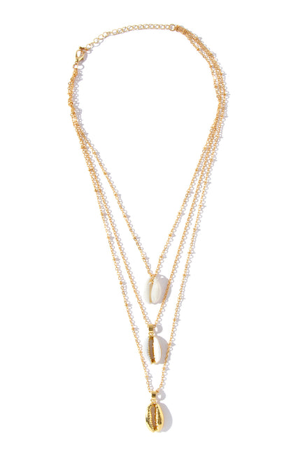 Maleah Necklace - Gold