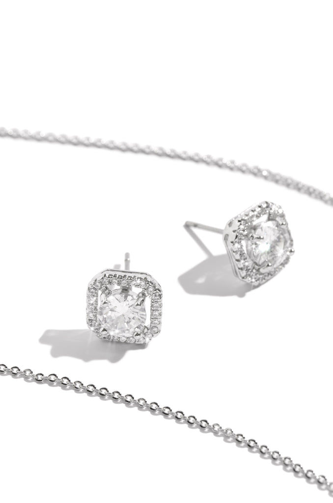 Crowned Jewel Set - Silver