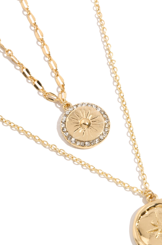 Touch The Sky Necklace - Gold