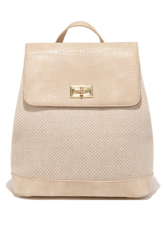 Travel With Me Backpack - Nude