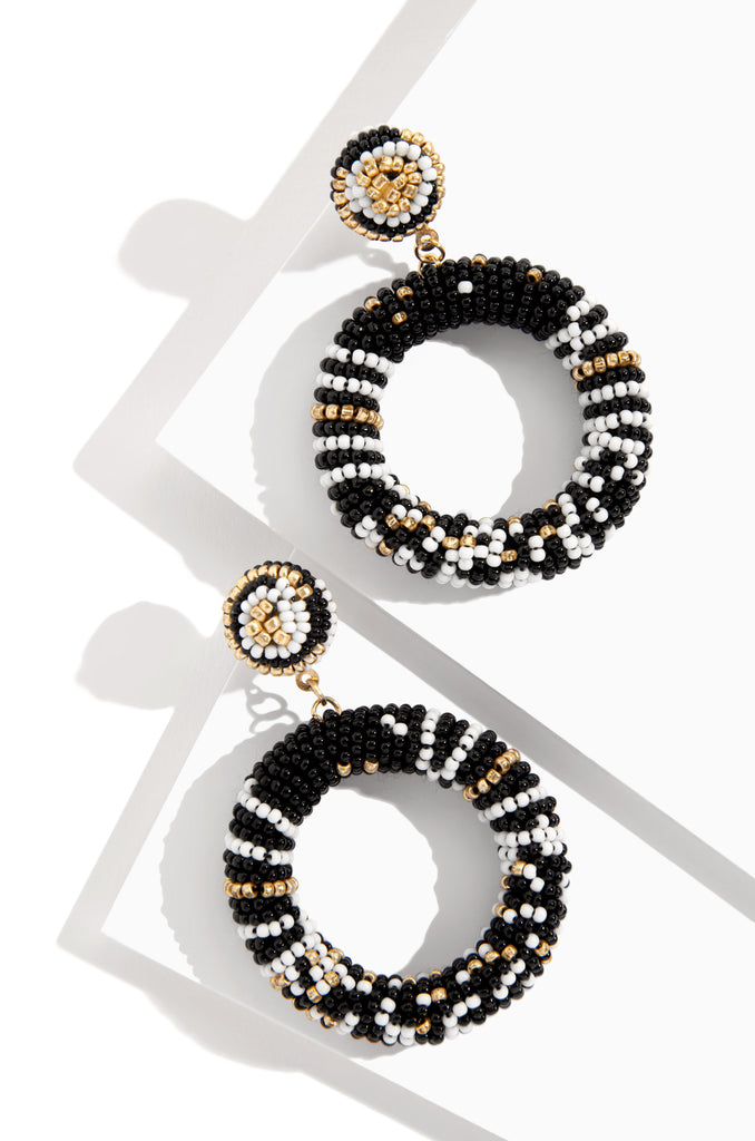 Cubana Earring - Black
