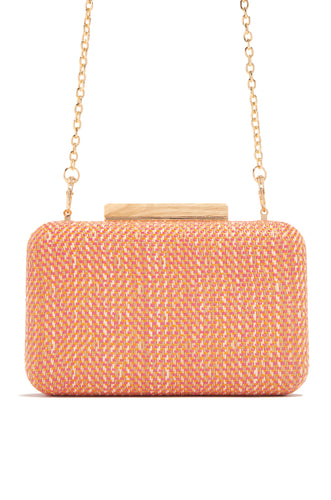 Love Island Clutch - Orange