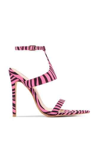 Fashion Forward - Neon Pink Zebra