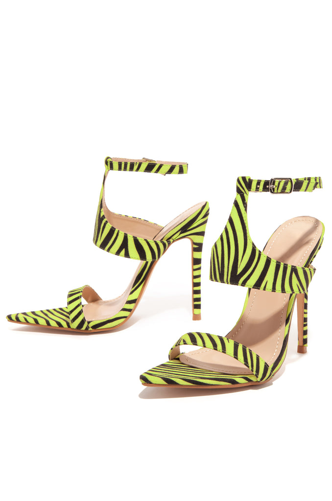 Fashion Forward - Lime Zebra