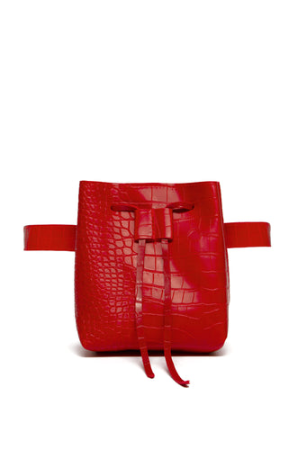 Urban Chic Belt Bag - Red