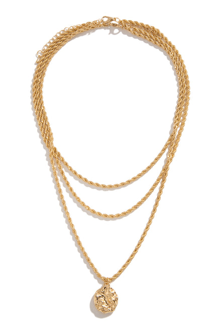 Madellin Necklace - Gold