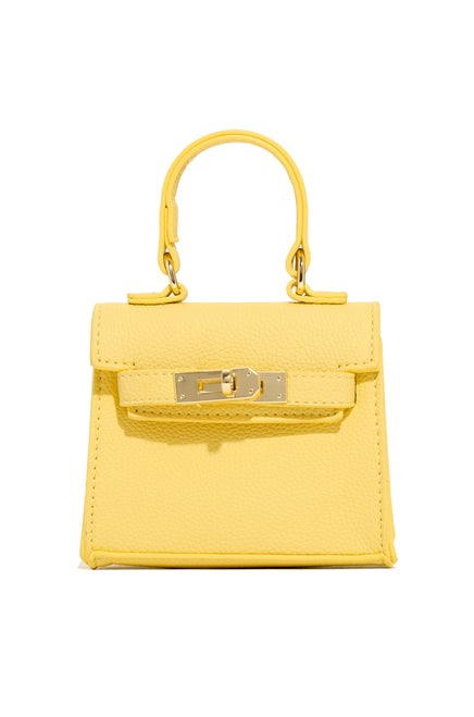 Kim Mini Bag - Yellow