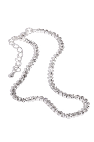 Beverly Anklet - Silver