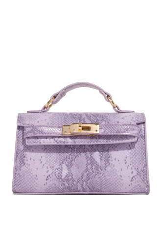 She's In Charge Bag - Lilac