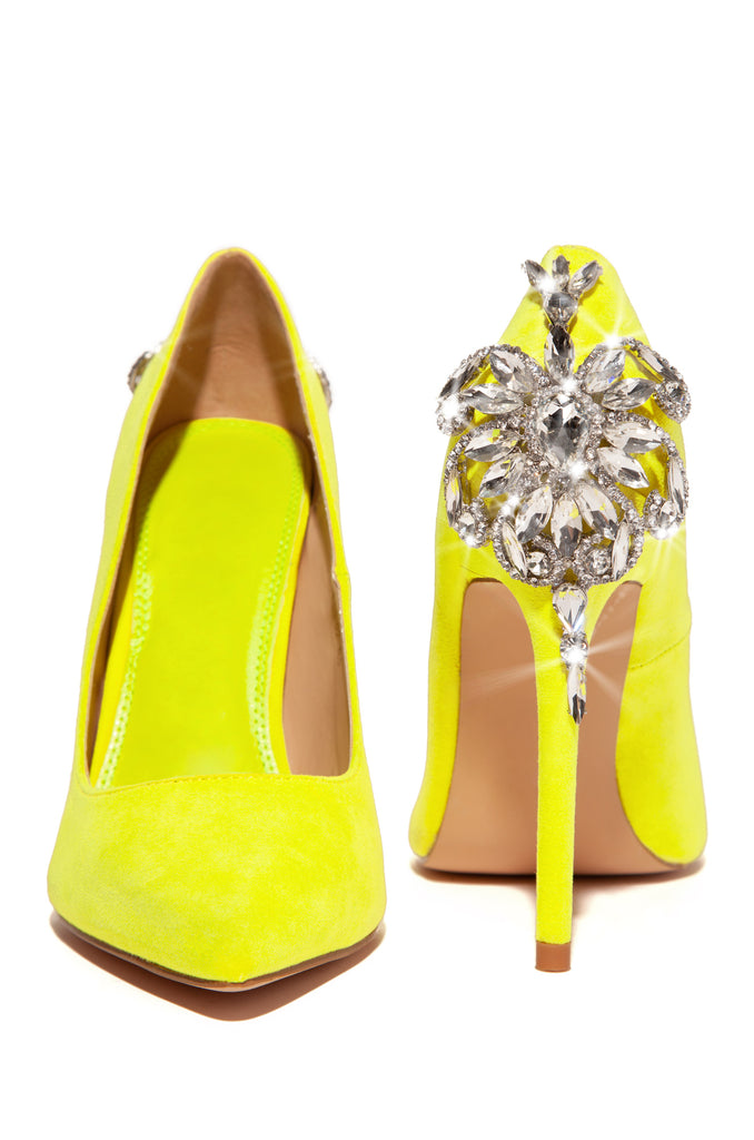 Glam Time - Neon Yellow