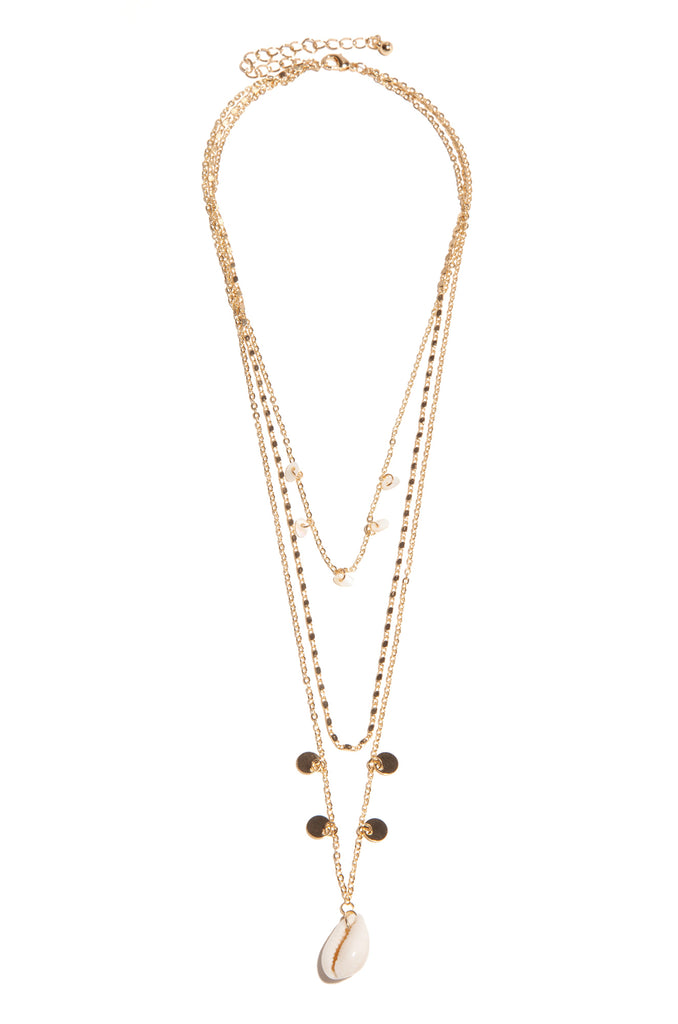 Malia Necklace - Gold