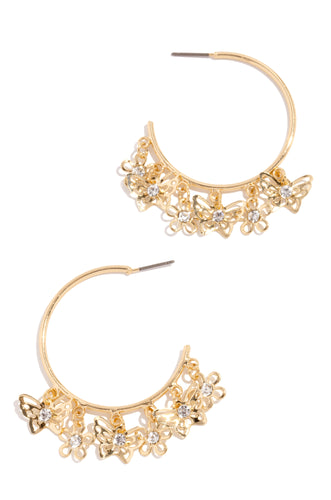 Butterfly Effect Earring - Gold