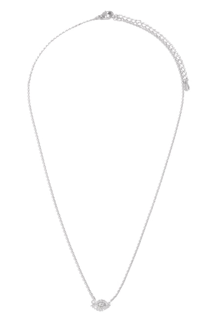 All Eyes On Me Necklace - Silver