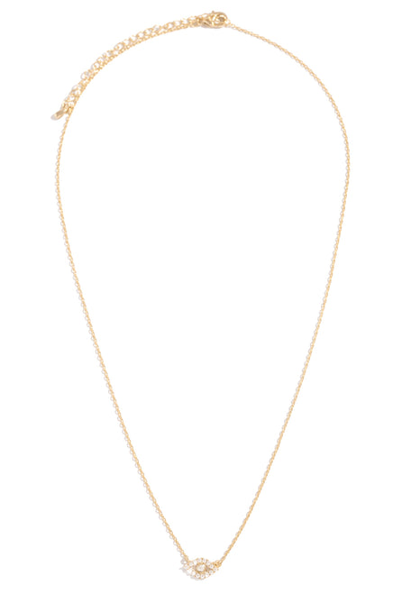 All Eyes On Me Necklace - Gold